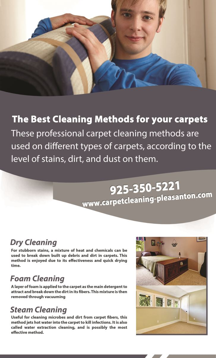 Our Infographic Carpet Cleaning Pleasanton